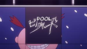 """Show's title is """"billiards."""" Katakana says """"biriyaado."""" Translated as """"pool."""" T_T"""